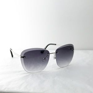 77c86006ff1 Accessories - 440-Rimless Tinted Lens Sunglasses